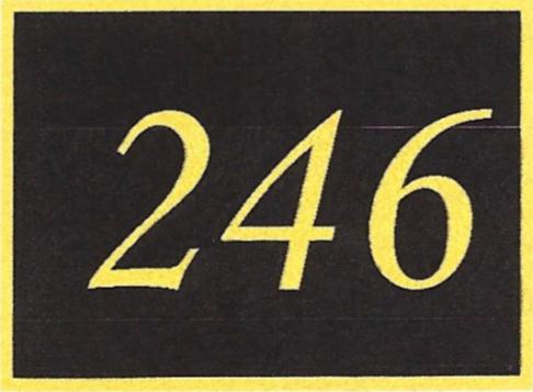 Number 246
