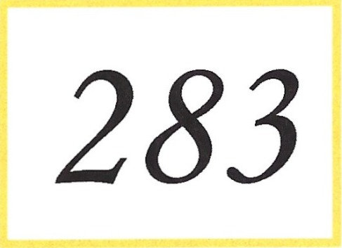 Number 283