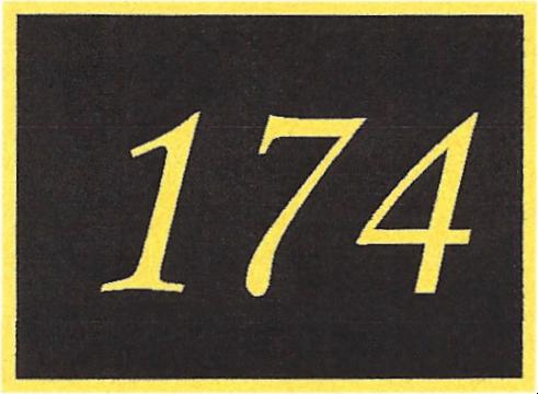Number 174