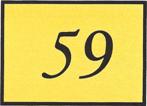 Number 59