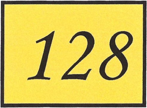 Number 128
