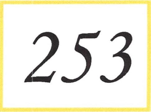 Number 253