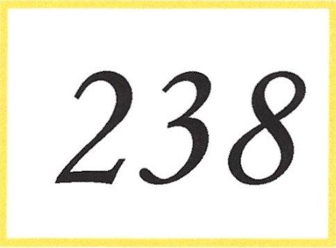 Number 238
