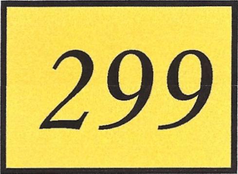 Number 299