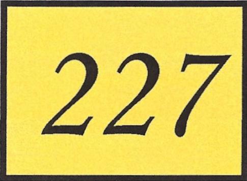 Number 227