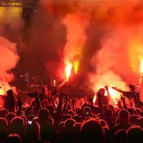 Concert acclamant Crowd