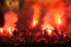 Cheering Concert Crowd