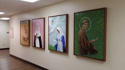 Saints Installed