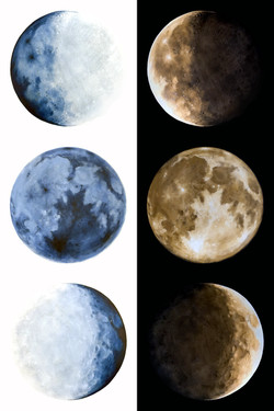 Phases of the Moon 1-3