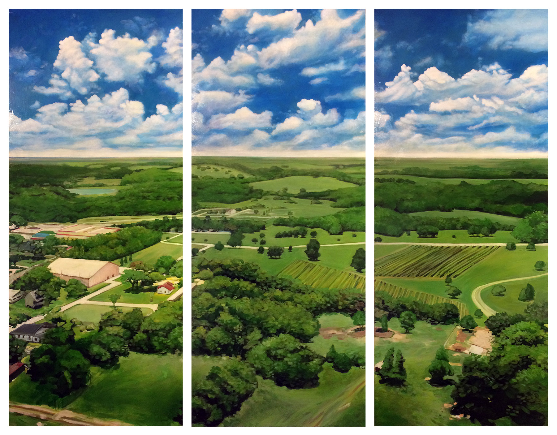 Texas Town Triptych