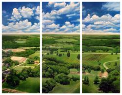 Texas Town Triptych