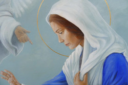 St. Mary's Annunciation Detail