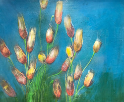 Brush Blossom Series for Patient Rms