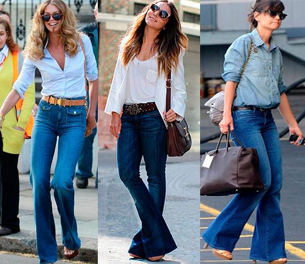 Looks com Calça Jeans e Bolsas Femininas