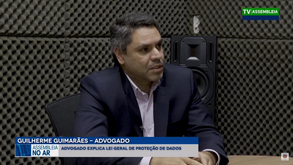 LGPD é tema de entrevista na TV Assembleia
