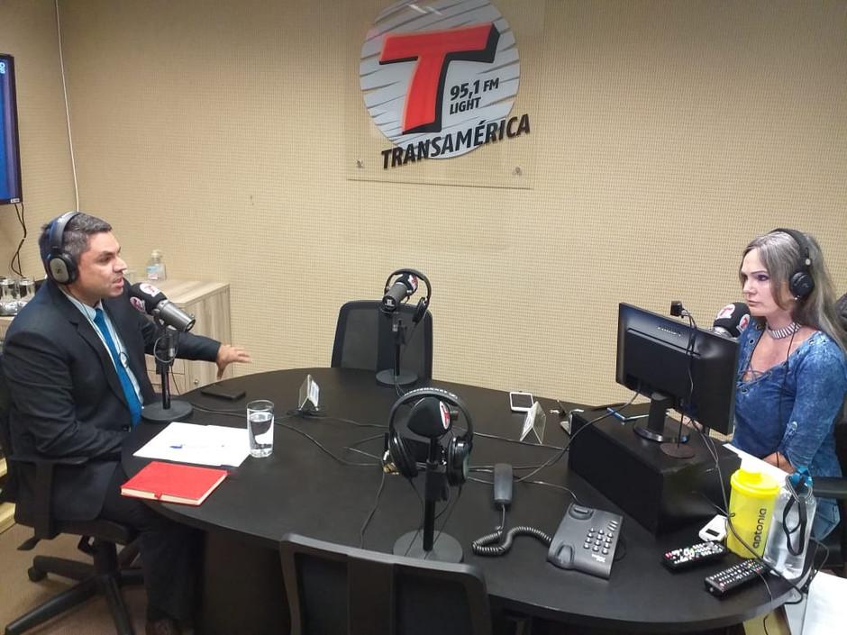Crimes virtuais são destaque na Rádio Transamérica