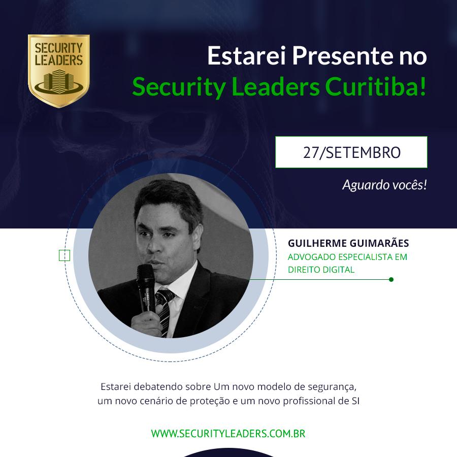 Guilherme Guimarães faz palestra no Security Leaders Curitiba