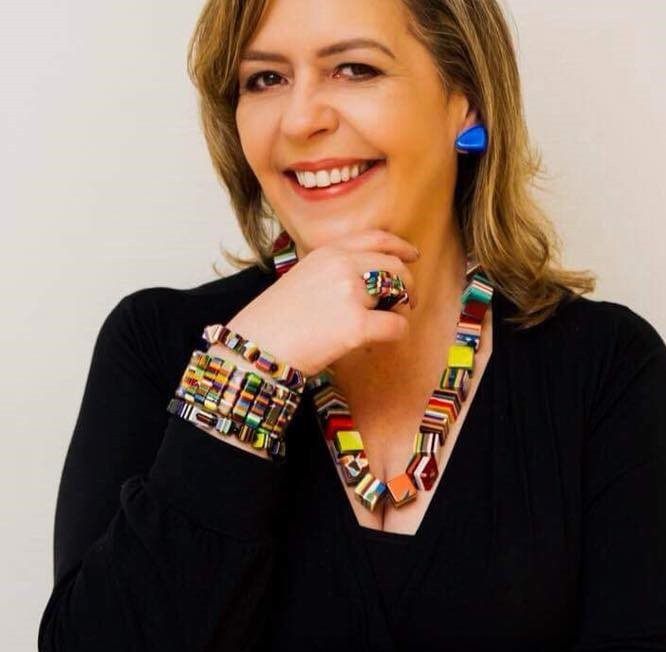 A jornalista Claudia Wasilewski, vítima dos hackers. Crédito: Ana Gabriela Amorim