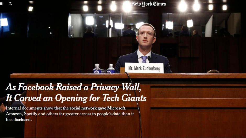 As práticas irregulares do Facebook no mundo