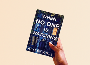 October Book Club Pick: When No One Is Watching