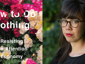 November Book Club Pick: How to Do Nothing