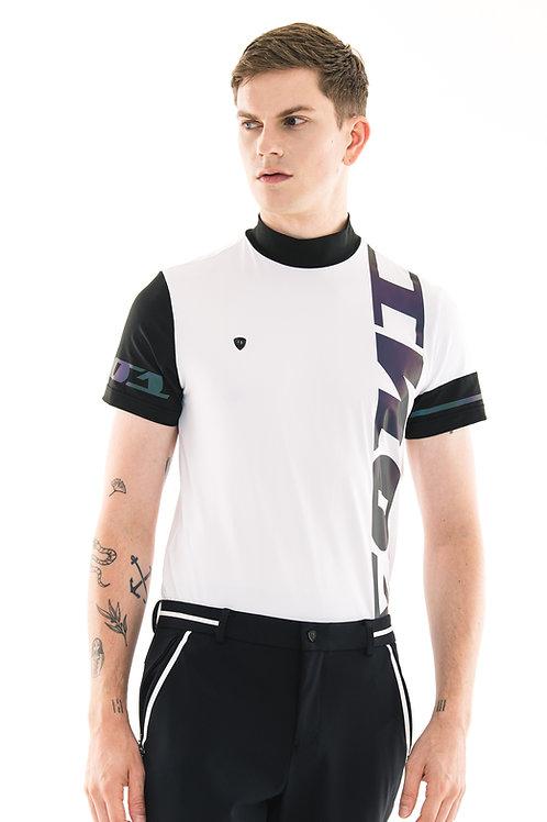 Brand Logo Polo (White)