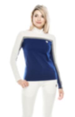 inos sortswear blue grey polo