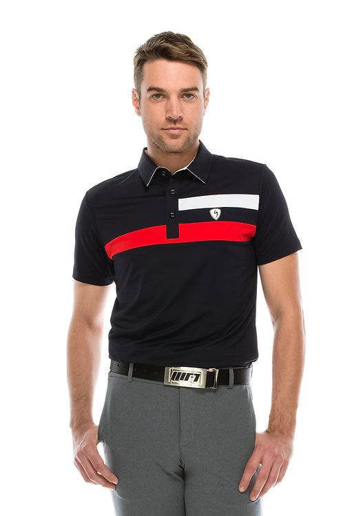 James Stripe Polo