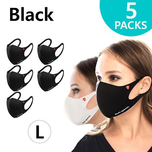 Performance Fashion Mask Black Large