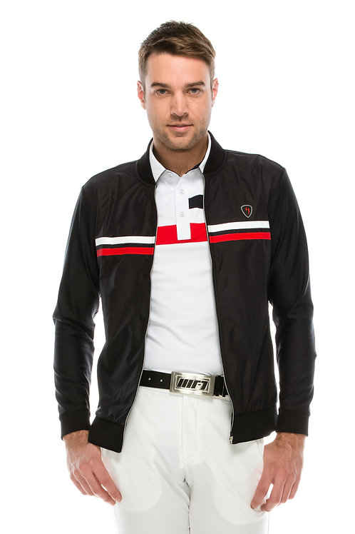 Kyle Classic Two Stripe Zip Up