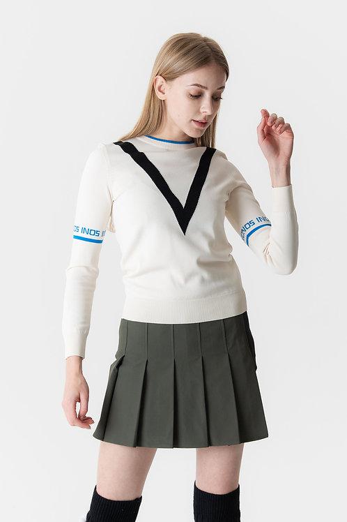 Mimi Knit Pullover ( Off White )