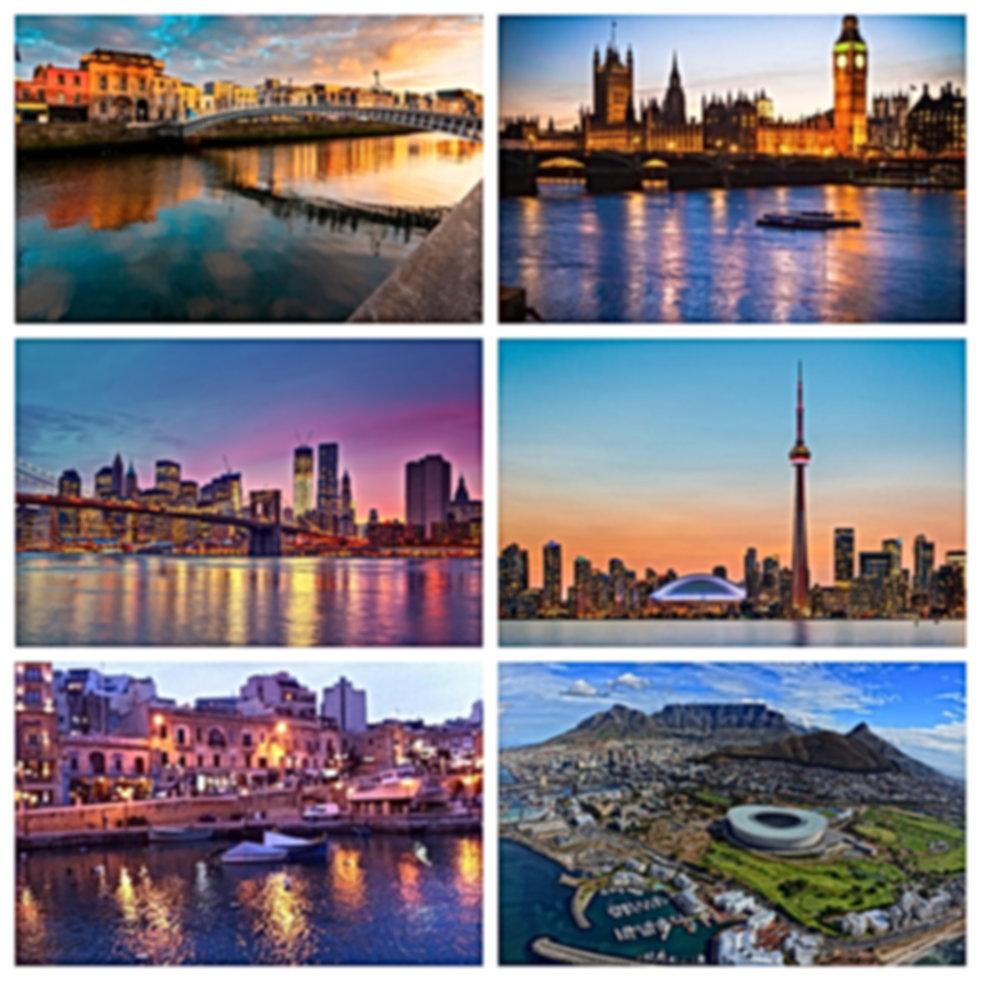 Ingles, irlanda, inglaterra, estados unidos, canada, malta, sudafrica, curso de ingles, epi