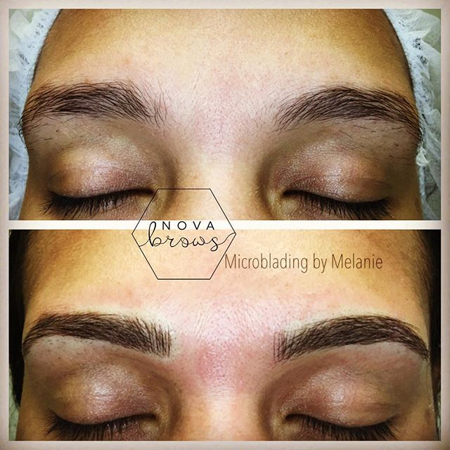 Fuller more luscious brows for the new year!  #microblading #microbladingdc #microbladingva #novabro