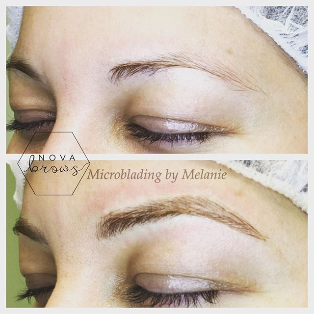 Finally, brows you can brag about! #microblading #microbladingva #microbladingdc #mucrobladingmd #br