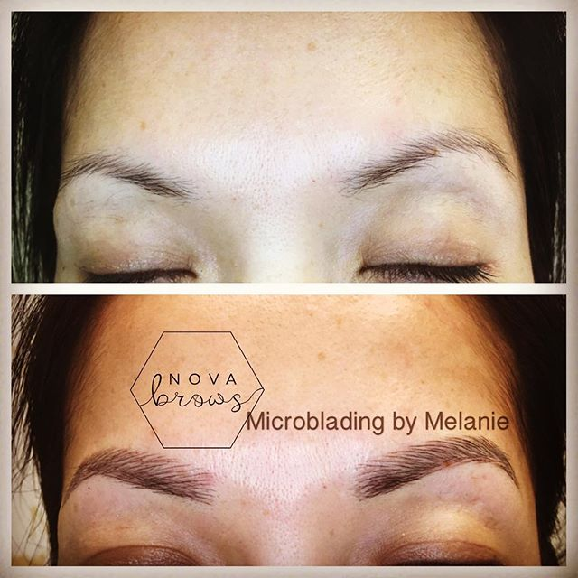 Perfection takes time, but we achieved it today!  #microblading #microbladingva #microbladingdc #muc