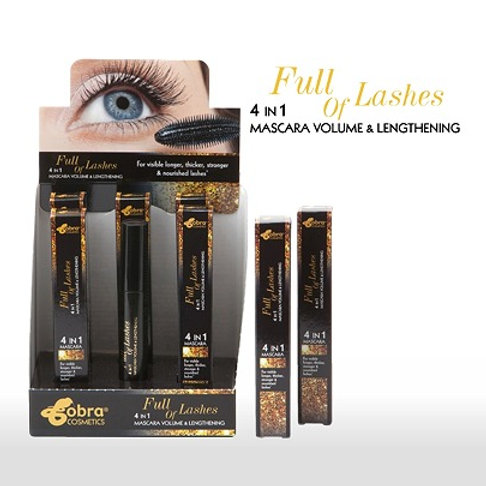 Cobra Mascara 4 in 1 Volume & Lengthening