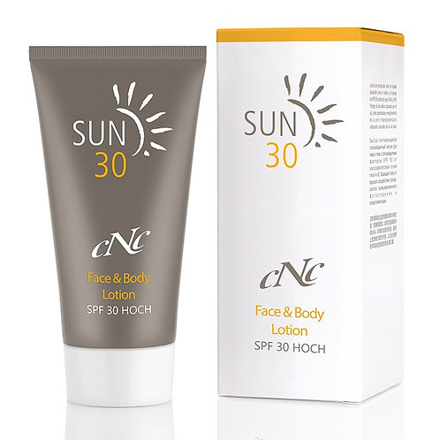 CNC Sun Face & Body Lotion SPF 30 / 50