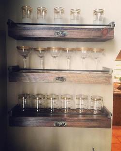 Cochrum floating shelves #187
