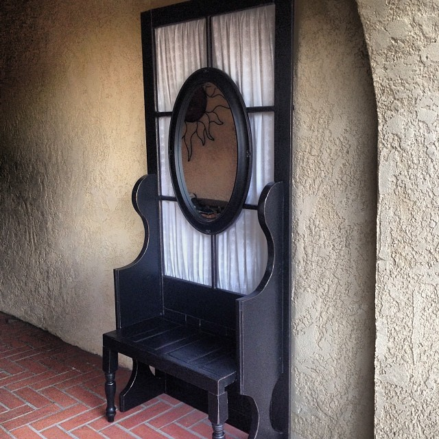 screen door bench
