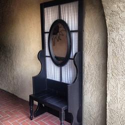 screen door bench