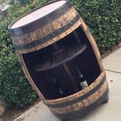 barrel wine case