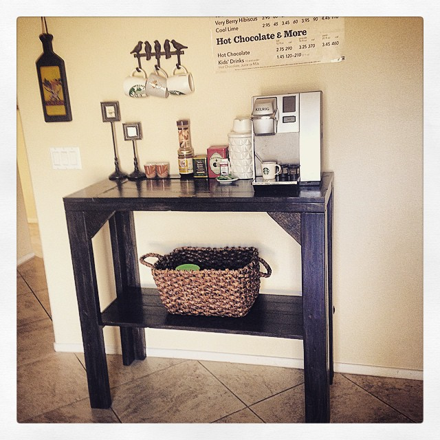 custom coffee bar
