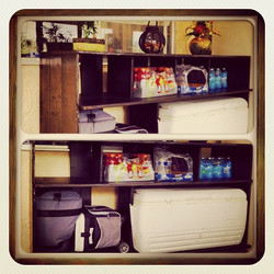 outdoor cooler unit