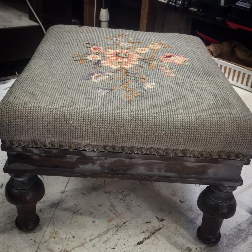 Vintage step stool b4