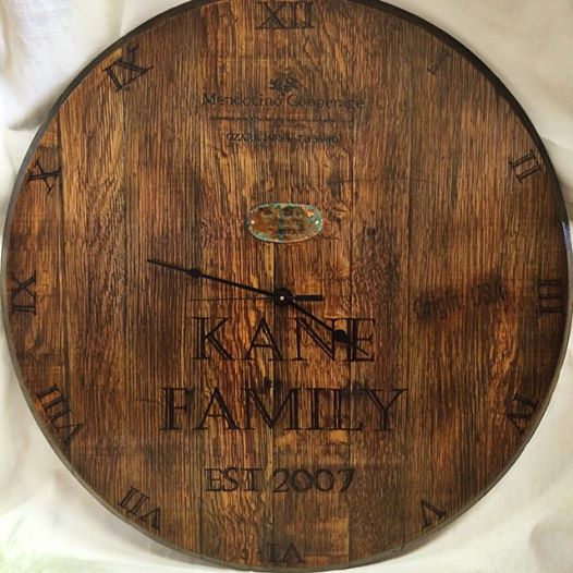 barrel top clock