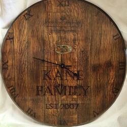 barrel top clock