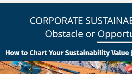 Corporate Sustainability: Obstacle or Opportunity?