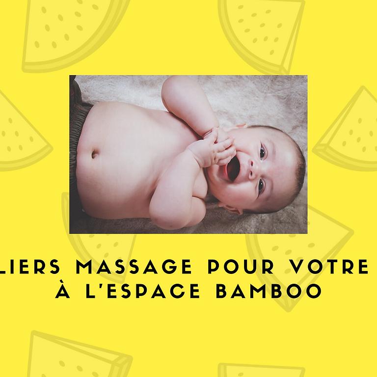 Nouvelle série d'ateliers massage