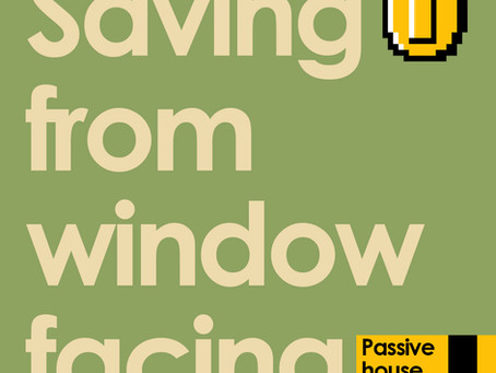 Saving money from your window facing