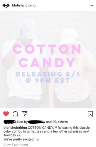Cotton Candy Clothing Line Announcement